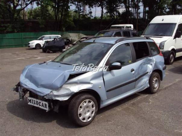 Peugeot 206 1.4 HDi SW kombi 65 000 km , foto 1 Auto-moto, Automobily   Tetaberta.sk - bazár, inzercia zadarmo