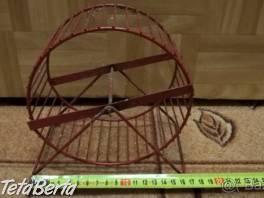 Predám kovové červené koleso pre škrečka. 199a6edddfc