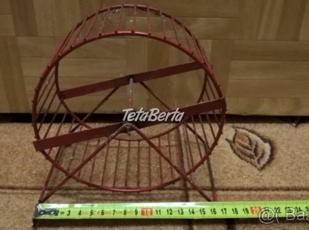Predám kovové červené koleso pre škrečka. , foto 1 Zvieratá, Hlodavce | Tetaberta.sk - bazár, inzercia zadarmo