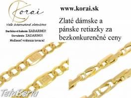 Zlaté retiazky od KORAI , Móda, krása a zdravie, Hodinky a šperky  | Tetaberta.sk - bazár, inzercia zadarmo