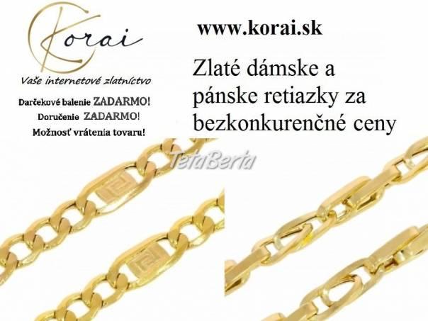 Zlaté retiazky od KORAI, foto 1 Móda, krása a zdravie, Hodinky a šperky   Tetaberta.sk - bazár, inzercia zadarmo