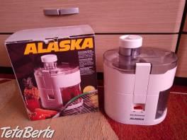 Predám odšťavovač značka ALASKA. , Elektro, Drobná domáca elektronika  | Tetaberta.sk - bazár, inzercia zadarmo