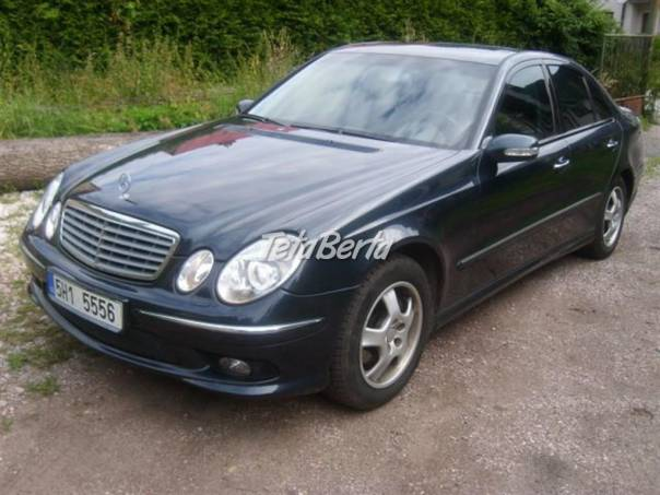 Mercedes-Benz Třída E 270 CDI AMG, foto 1 Auto-moto, Automobily | Tetaberta.sk - bazár, inzercia zadarmo