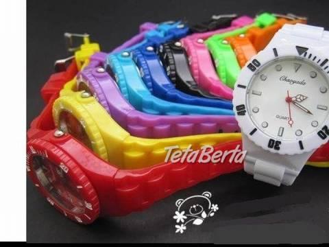 Farebné silikónové hodinky, foto 1 Móda, krása a zdravie, Hodinky a šperky | Tetaberta.sk - bazár, inzercia zadarmo