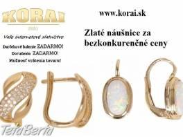 Náušnice zo žltého zlata od KORAI , Móda, krása a zdravie, Hodinky a šperky  | Tetaberta.sk - bazár, inzercia zadarmo