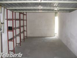Prenajmem garáž v BA 2 so stálou vrátnickou službou.