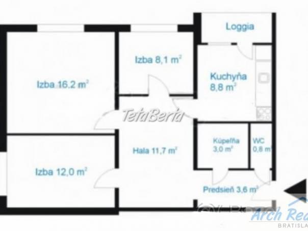 Ponúkame na predaj 3 - izbový byt, ul. Znievska, Petržalka - Lúky, Bratislava V. , foto 1 Reality, Byty | Tetaberta.sk - bazár, inzercia zadarmo