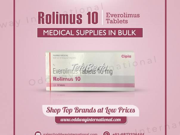 Rolimus 10mg tablety, veľkoobchodné náklady online - Oddway International, foto 1 Móda, krása a zdravie, Starostlivosť o zdravie | Tetaberta.sk - bazár, inzercia zadarmo