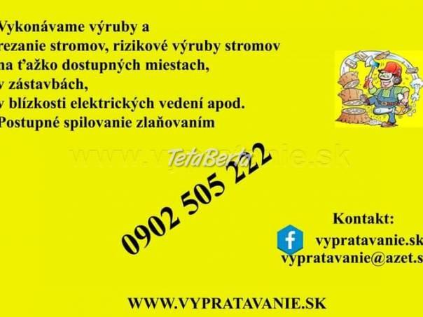 Čistenie pozemkov, výrub a pilenie stromov, foto 1 Dom a záhrada, Ostatné | Tetaberta.sk - bazár, inzercia zadarmo