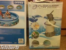 Bazén s filtrom-čisto nové