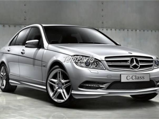 Mercedes-Benz Třída C C 220 CDI BlueEFFICIENCY - AVANGARDE - AMG style, foto 1 Auto-moto, Automobily | Tetaberta.sk - bazár, inzercia zadarmo