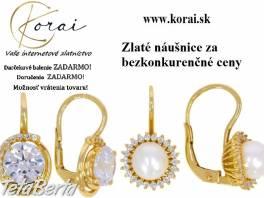 Zlaté náušnice KORAI , Móda, krása a zdravie, Hodinky a šperky  | Tetaberta.sk - bazár, inzercia zadarmo