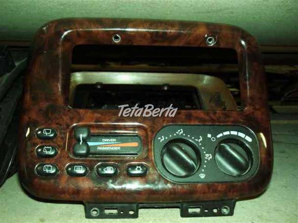 Chrysler Grand Voyager Panel klimatizace 96-2000, foto 1 Auto-moto   Tetaberta.sk - bazár, inzercia zadarmo