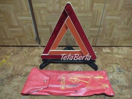 Predám výstražný trojuholník zo starého auta. Predám tento výstražný trojuholník v zachovalom stave a v originálnom obale. , foto 1 Náhradné diely a príslušenstvo, Dodávky a nákladné autá | Tetaberta.sk - bazár, inzercia zadarmo
