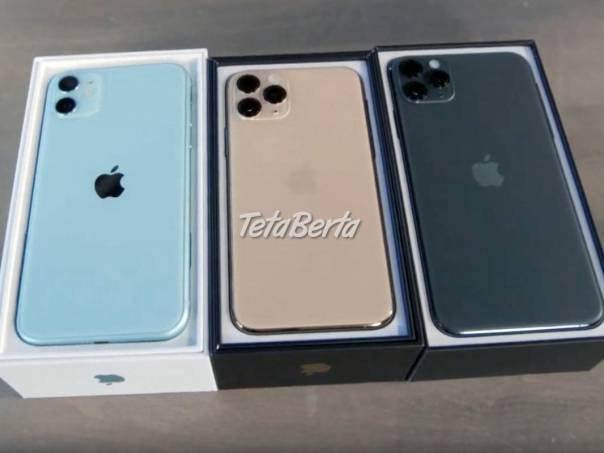 Apple iPhone 11, 11 Pro a 11 Pro Max za predaj za veľkoobchodnú cenu., foto 1 Elektro, Mobilné telefóny | Tetaberta.sk - bazár, inzercia zadarmo