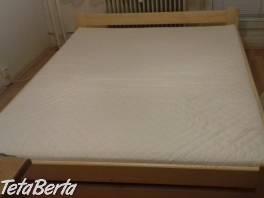 Nová posteľ 160 x 200 s novým matracom , Dom a záhrada, Postele a matrace  | Tetaberta.sk - bazár, inzercia zadarmo
