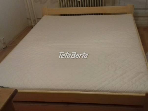 Nová posteľ 160 x 200 s novým matracom, foto 1 Dom a záhrada, Postele a matrace | Tetaberta.sk - bazár, inzercia zadarmo