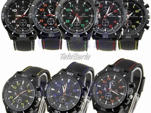 Módne športové pánske hodinky zn. GT ! 7eb9cc48add