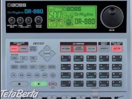 predám bicí automat BOOS DR 880 , Hobby, voľný čas, Film, hudba a knihy    Tetaberta.sk - bazár, inzercia zadarmo