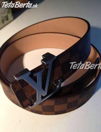 Predám nový opasok Louis Vuitton Damier Ebene Belt  3b41d878272