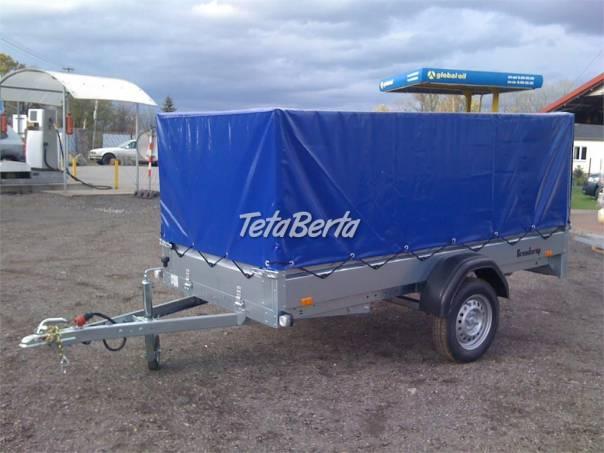 Přívěsný vozík THULE 270x128 s plachtou ---AKCE---, foto 1 Auto-moto, Automobily | Tetaberta.sk - bazár, inzercia zadarmo