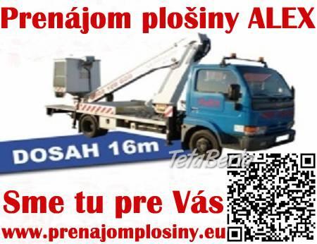 Prenájom plošiny Senec, foto 1 Obchod a služby, Stroje a zariadenia | Tetaberta.sk - bazár, inzercia zadarmo