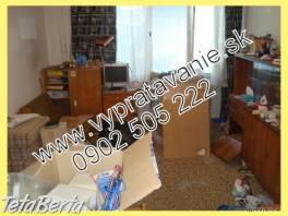 Vypratávanie bytov, sťahovanie Bratislava , Obchod a služby, Ostatné  | Tetaberta.sk - bazár, inzercia zadarmo