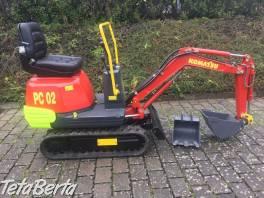 Minibagr Komatsu PC 02 , Poľnohospodárske a stavebné stroje, Stavebné stroje  | Tetaberta.sk - bazár, inzercia zadarmo