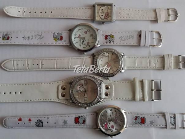 Hello Kitty hodinky v bielej farbe , foto 1 Móda, krása a zdravie, Hodinky a šperky | Tetaberta.sk - bazár, inzercia zadarmo