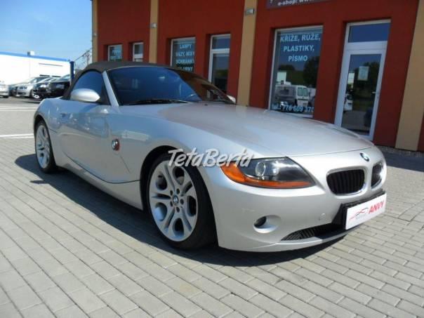 BMW Z4 2,5i KLIMA, KŮŽE, foto 1 Auto-moto, Automobily | Tetaberta.sk - bazár, inzercia zadarmo