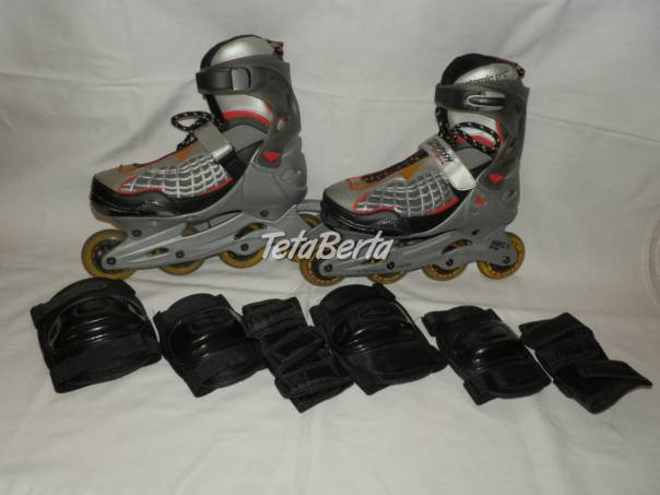 Kolieskové korčule značky - Tempish - veľkosť 42, foto 1 Hobby, voľný čas, Šport a cestovanie   Tetaberta.sk - bazár, inzercia zadarmo