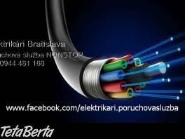 Elektrikár Bratislava +blízke okolie
