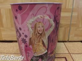 Kôš odpadkový Hannah Montana. , Pre deti, Ostatné  | Tetaberta.sk - bazár, inzercia zadarmo