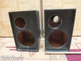 Predám drevené ozvučnice pre reproduktory. , Elektro, Reproduktory, mikrofóny, slúchadlá    Tetaberta.sk - bazár, inzercia zadarmo