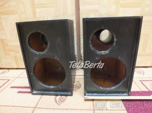 Predám drevené ozvučnice pre reproduktory., foto 1 Elektro, Reproduktory, mikrofóny, slúchadlá | Tetaberta.sk - bazár, inzercia zadarmo