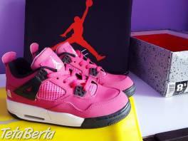 Nike Air Jordan 4 Kids Pink Black Shoes , Móda, krása a zdravie, Obuv  | Tetaberta.sk - bazár, inzercia zadarmo