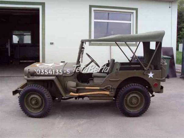 Willys MB,, foto 1 Auto-moto, Automobily | Tetaberta.sk - bazár, inzercia zadarmo