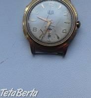 pozlátené náramkové hodinky GUB Glasshute , Hobby, voľný čas, Umenie a zbierky  | Tetaberta.sk - bazár, inzercia zadarmo