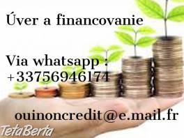 Otvorená ponuka úveru pre všetky vaše finančné potreby , Práca, Kancelária - administratíva  | Tetaberta.sk - bazár, inzercia zadarmo