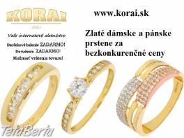 Zlaté prstene od KORAI , Móda, krása a zdravie, Hodinky a šperky  | Tetaberta.sk - bazár, inzercia zadarmo