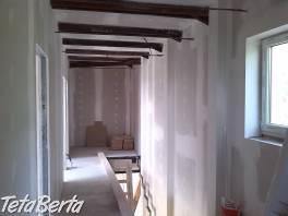 Sadrokartón - Suchá výstavba
