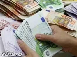 Ponuka úveru medzi jednotlivcom , Hobby, voľný čas, Udalosti a predstavenia  | Tetaberta.sk - bazár, inzercia zadarmo