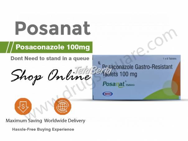 Buy Posanat Online | Natco Posaconazole 100 mg Tablet, foto 1 Móda, krása a zdravie, Starostlivosť o zdravie | Tetaberta.sk - bazár, inzercia zadarmo