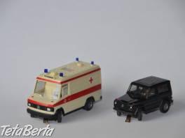 Predam starsie modely aut HO (W.Germany