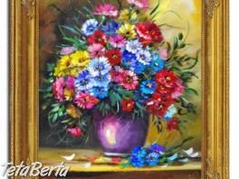 KYTICE - 4 - olejomalba na plátně - bohatě zdobený rám 630x530mm  , Hobby, voľný čas, Umenie a zbierky  | Tetaberta.sk - bazár, inzercia zadarmo