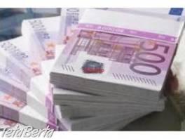 Vynikajúca ponuka pôžičiek , Hobby, voľný čas, Veštenie a ezoterika  | Tetaberta.sk - bazár, inzercia zadarmo