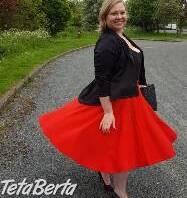 Červená zvonová sukňa , Móda, krása a zdravie, Oblečenie  | Tetaberta.sk - bazár, inzercia zadarmo