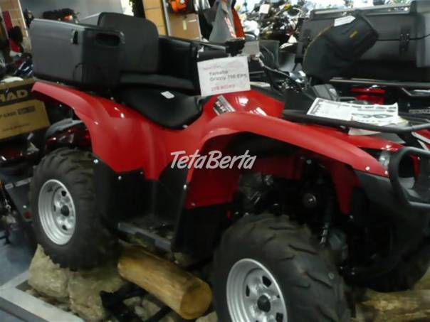 Grizzly YFM 700 EPS vč SPZ, skladem, foto 1 Auto-moto   Tetaberta.sk - bazár, inzercia zadarmo