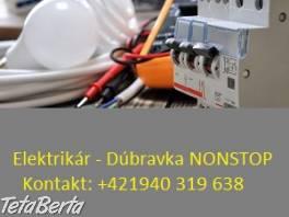 Elektrikár Bratislava + okolie , Elektro, Servis a inštalácia  | Tetaberta.sk - bazár, inzercia zadarmo