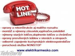 Elektrikár Bratislava - Poruchová služba. , Obchod a služby, Stroje a zariadenia  | Tetaberta.sk - bazár, inzercia zadarmo